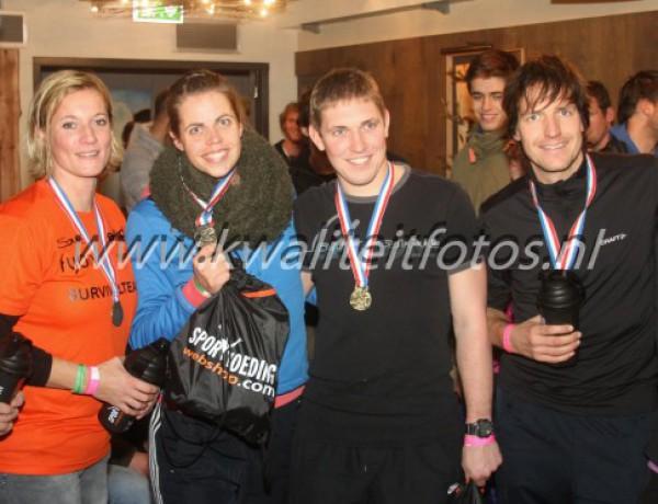 3 dubbele podiumplekken NK survivalrace, Goldrush Nijverdal